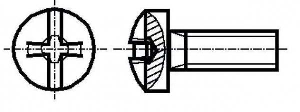 Set surub otel 3 mm (M3)  X 10 mm (10 bucati) 0