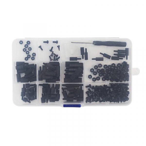 Set suruburi negre din nailon pentru Raspberry Pi 2