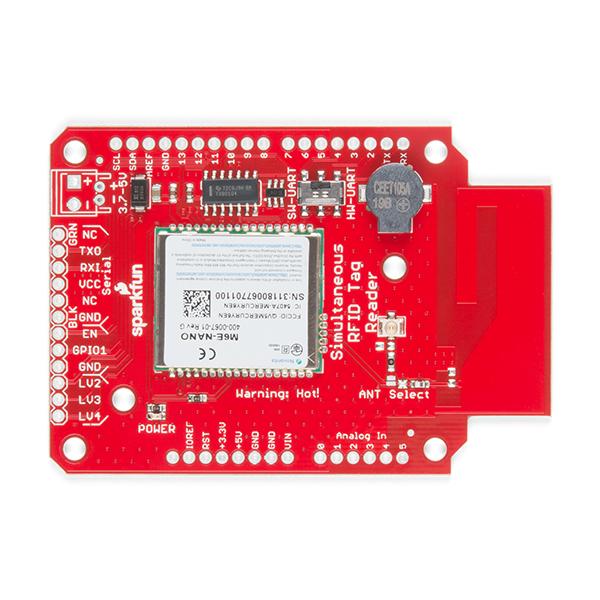 Shield cititor RFID SparkFun M6E Nano 4