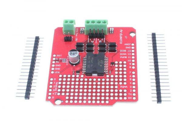 Shield driver motor bazat pe L298P [4]