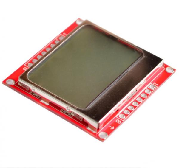 Shield LCD 84x48 Nokia 5110 cu backlight albastru 1