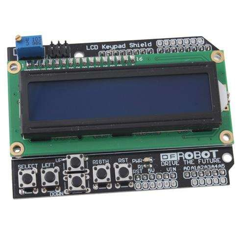 Shield LCD1602 cu LCD si tastatura pentru Mega2560 UNO R3 2