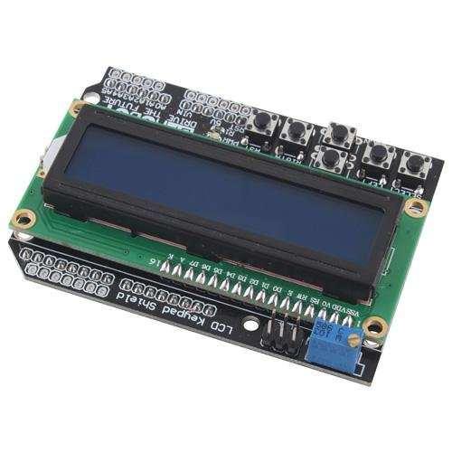 Shield LCD1602 cu LCD si tastatura pentru Mega2560 UNO R3 1