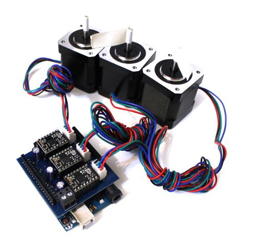 Shield Arduino pentru motoare stepper 0