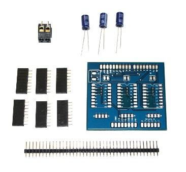 Shield Arduino pentru motoare stepper 2