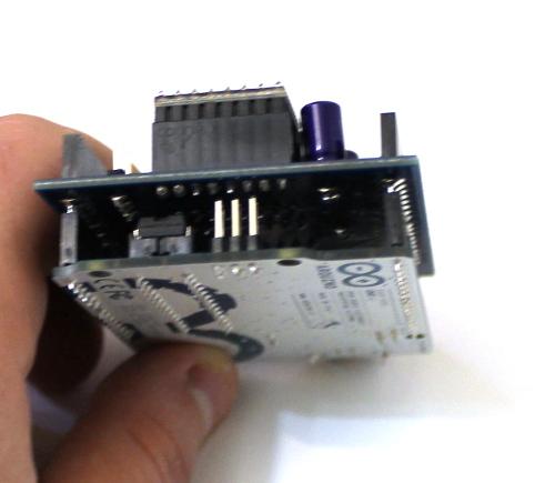 Shield Arduino pentru motoare stepper 5