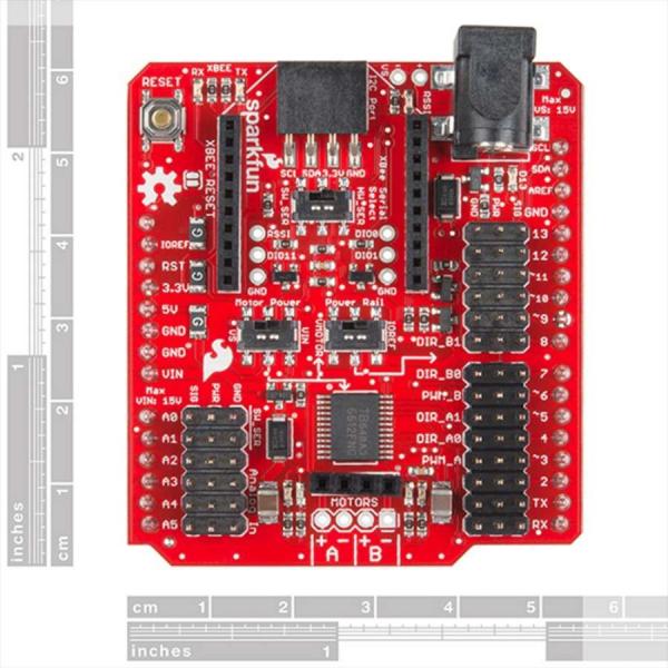 Shield wireless SparkFun pentru driver de motor 1