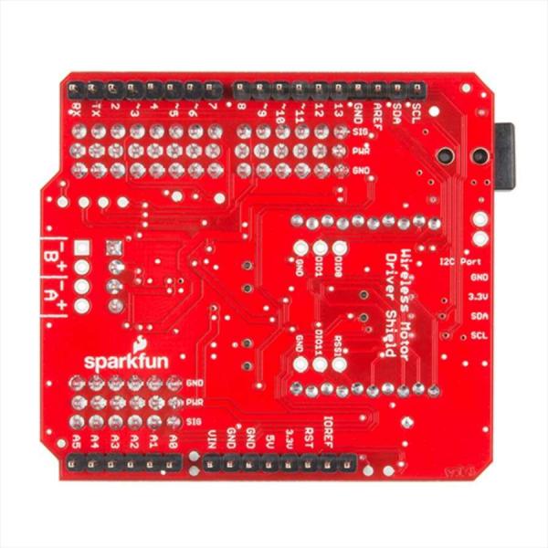Shield wireless SparkFun pentru driver de motor 3