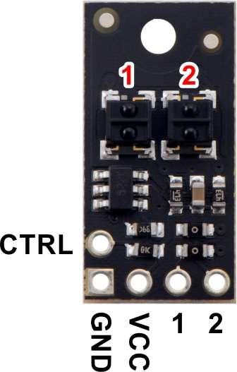 Bara senzori linie analogici 2  QTRX-HD-02A [4]