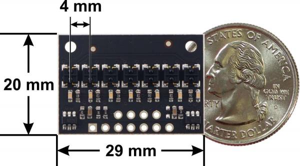 Bara senzori linie digitali 7 QTRX-HD-07RC 3
