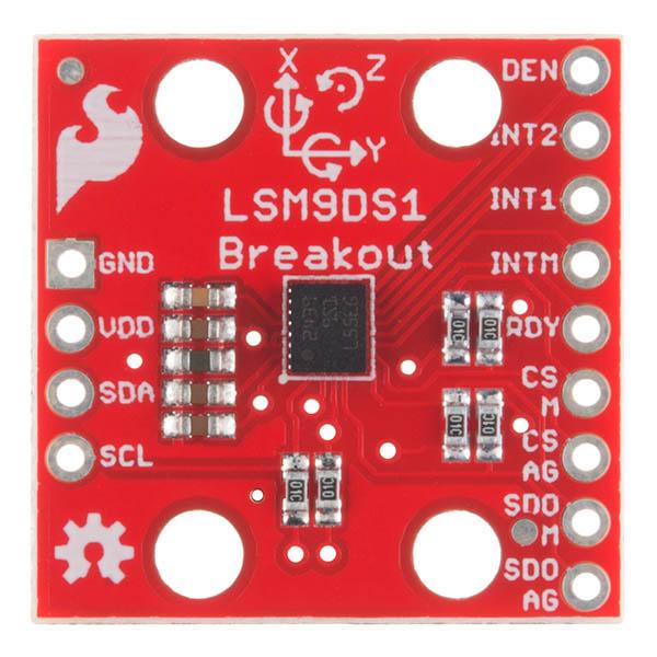 LSM9DS1 - IMU 9 grade de libertate 2