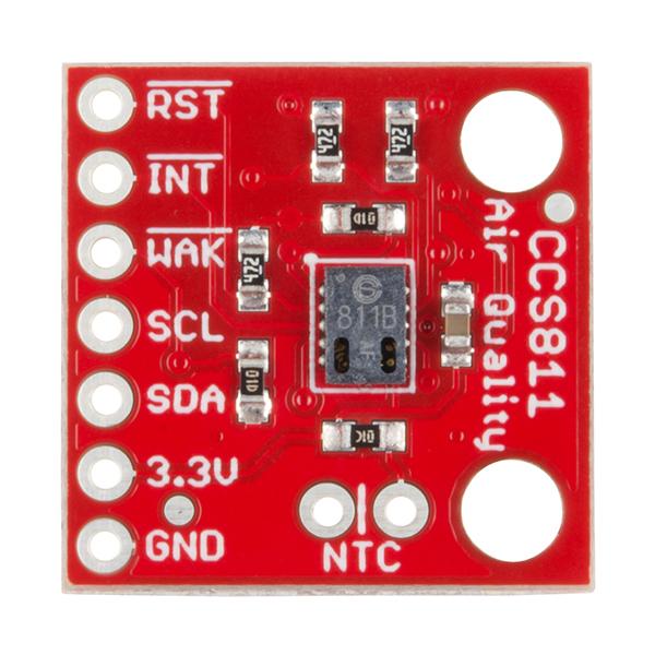 Senzor pentru masurarea calitatii aerului - CCS811 (eCO2 TVOC) [1]