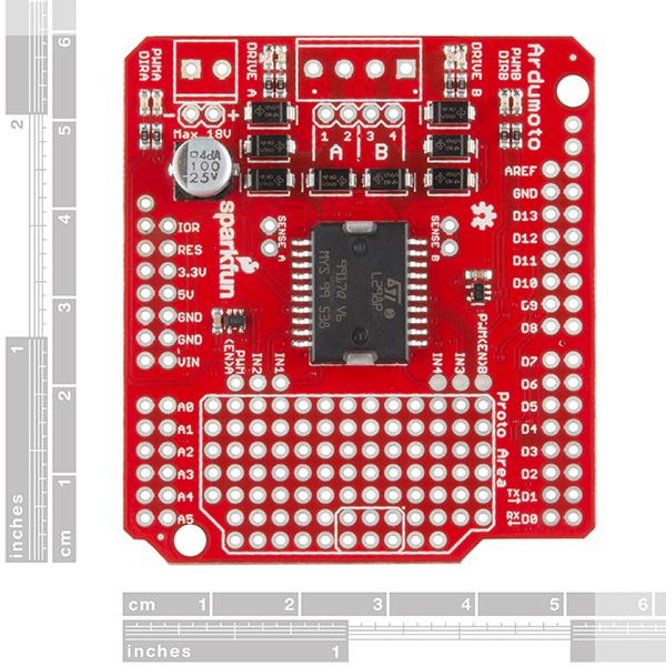 SparkFun Ardumoto - Motor Driver Shield 1