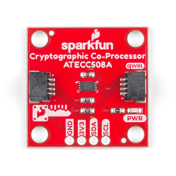 SparkFun ATECC508A breakout co-procesor criptografic cu Qwiic 1