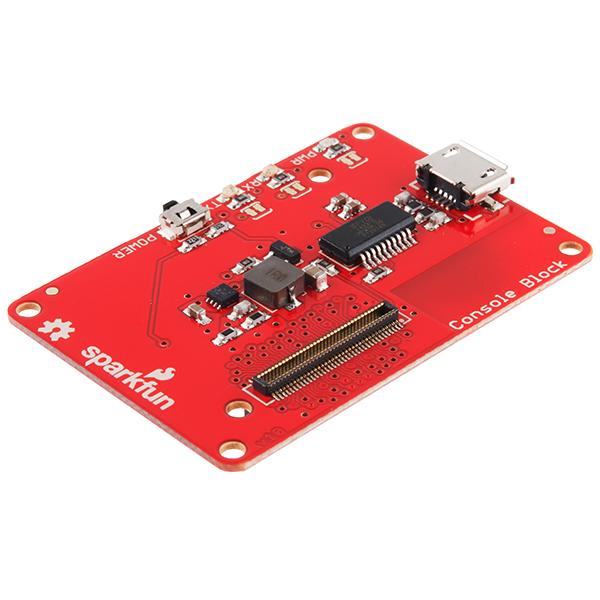 SparkFun Block for Intel® Edison - Console 0