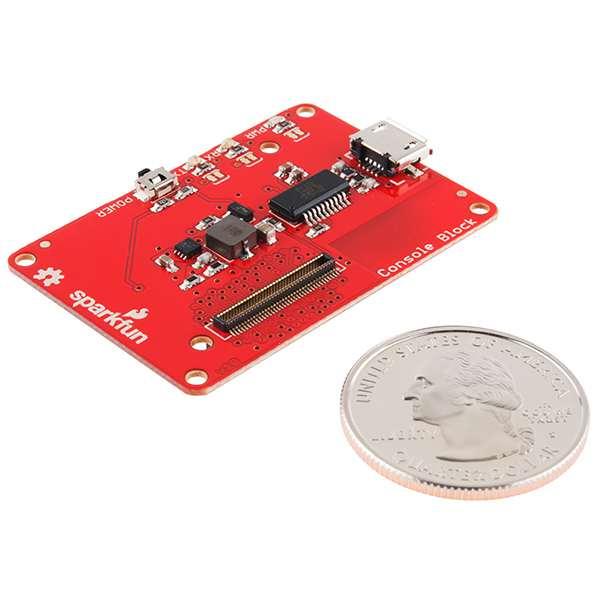 SparkFun Block for Intel® Edison - Console 3