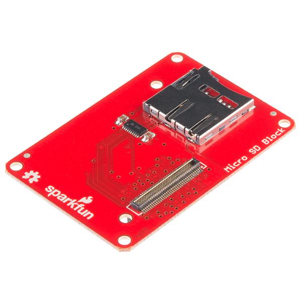 Block for Intel® Edison - microSD 0