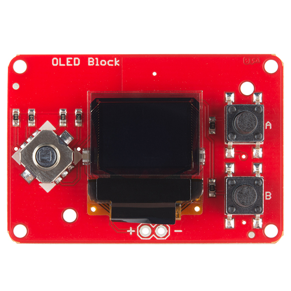 SparkFun Block for Intel® Edison - OLED 1