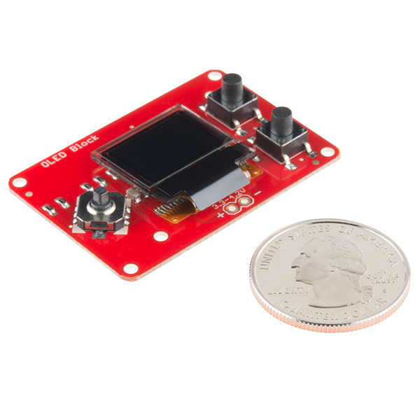 SparkFun Block for Intel® Edison - OLED 3