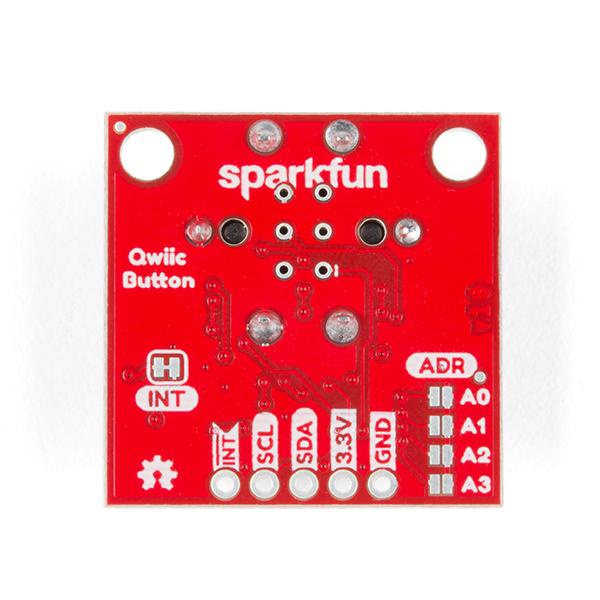 SparkFun buton LED rosu cu Qwiic 2