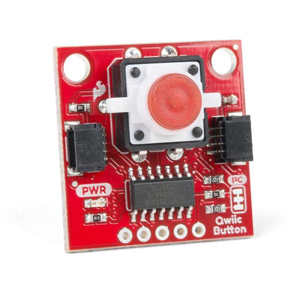 SparkFun buton LED rosu cu Qwiic 0