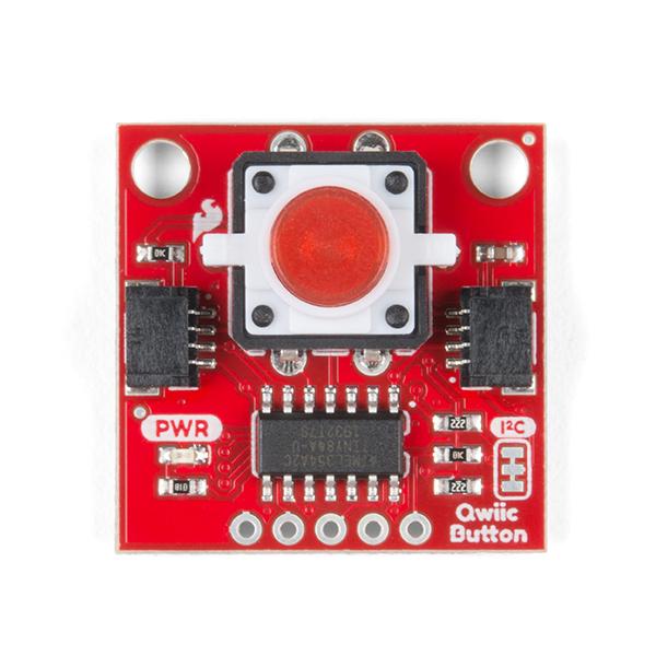 SparkFun buton LED rosu cu Qwiic 1