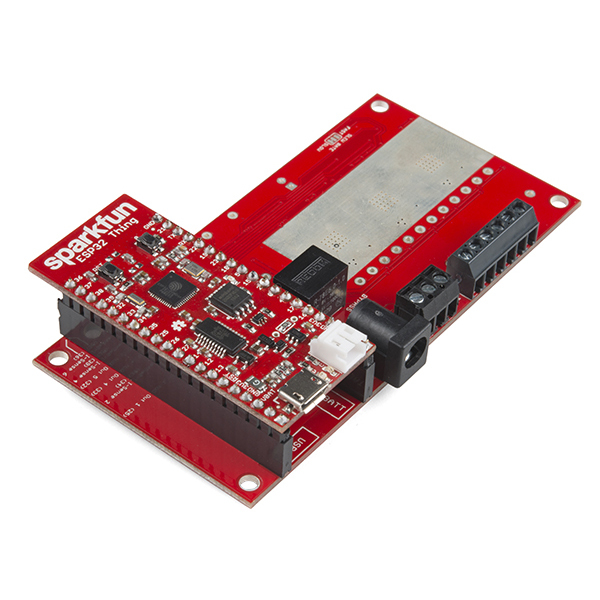 SparkFun ESP32 Thing Power Control Shield [4]