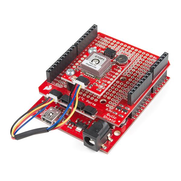 SparkFun GPS Breakout - XA1110 (Qwiic) 4