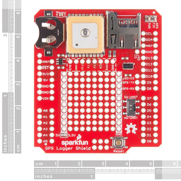 GPS Logger Shield 1