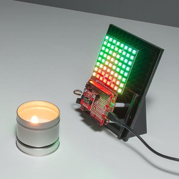Breakout senzor caldura SparkFun Grid-EYE AMG8833 (Qwiic) 5