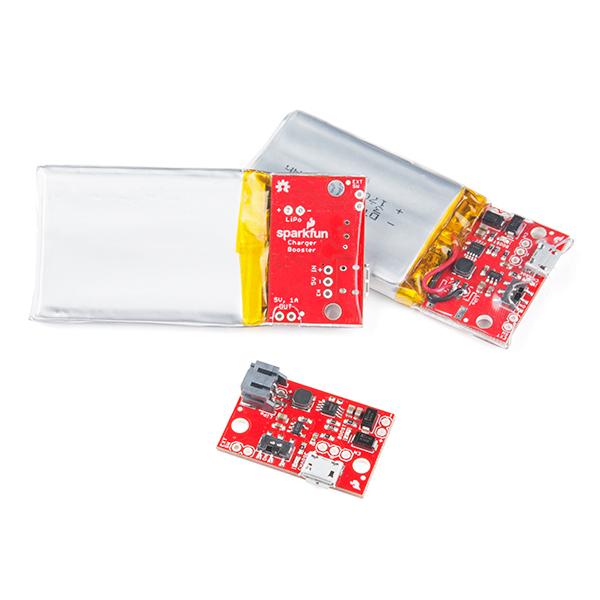 SparkFun Incarcator booster  LiPo  - 5V/1A [4]