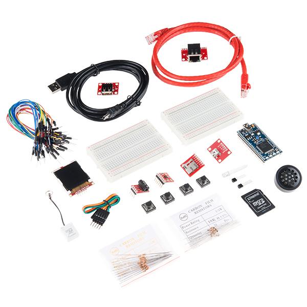 Kit pentru incepatori SparkFun mbed 0