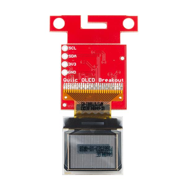 SparkFun Micro OLED Breakout (Qwiic) 4
