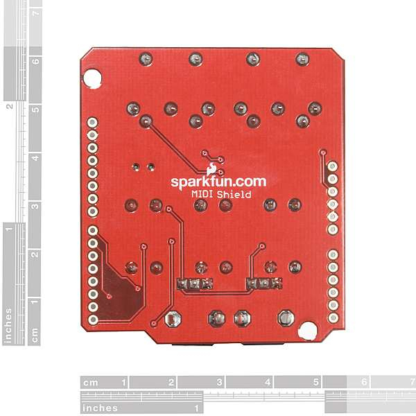 RETRAS - SparkFun MIDI Shield 7