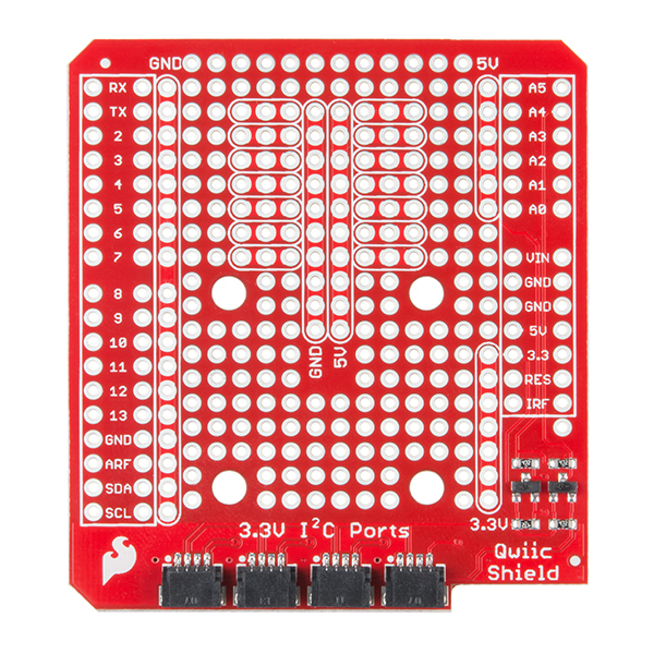 SparkFun Qwiic Shield pentru Arduino 2