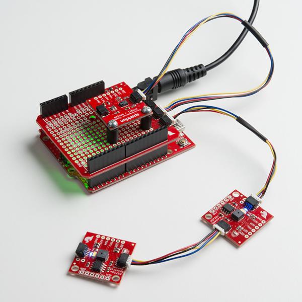 SparkFun Qwiic Shield pentru Arduino 4