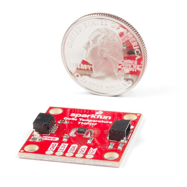SparkFun Qwiic TMP117 breakout senzor temperatura 3