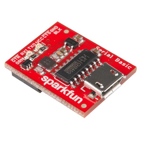 USB Serial Basic Breakout - CH340G 0