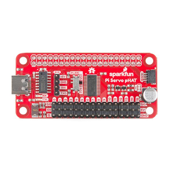 SparkFun Servo pHAT pentru Raspberry Pi [2]