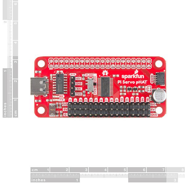 SparkFun Servo pHAT pentru Raspberry Pi [1]