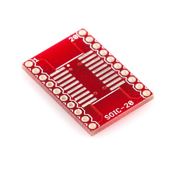 Circuit adaptor SOIC la DIP - 20 Pini 0