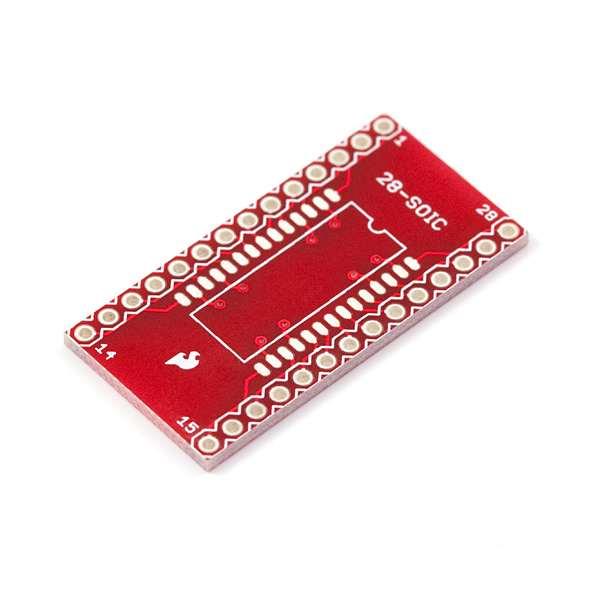 Circuit adaptor SOIC la DIP - 28 Pini 0