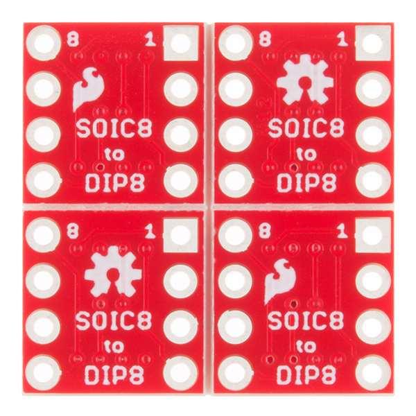 Circuit adaptor SOIC la DIP - 8 Pini 2