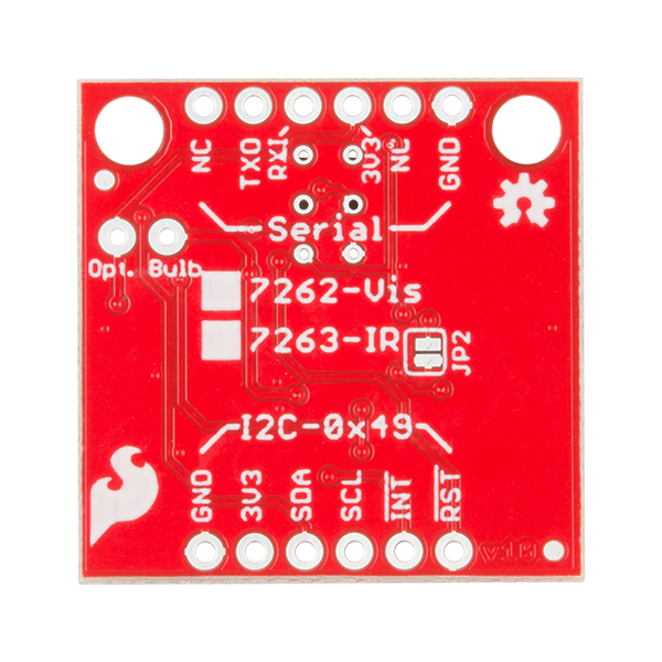 SparkFun Spectral Sensor Breakout - AS7262 Visible (Qwiic) 3