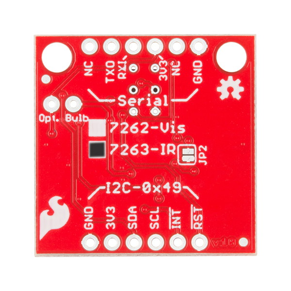 SparkFun Spectral Sensor Breakout - AS7263 NIR (Qwiic) 3