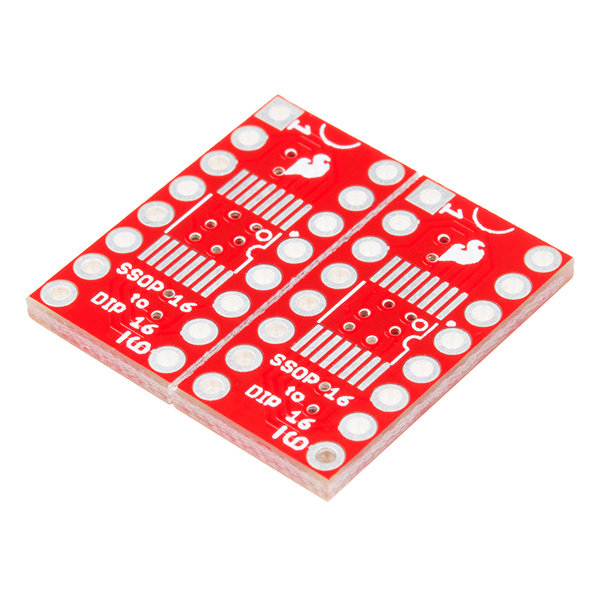 SparkFun SSOP to DIP Adapter - 16-Pin 0