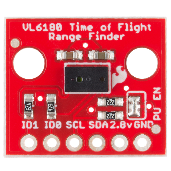TOF Range Finder - VL6180 1