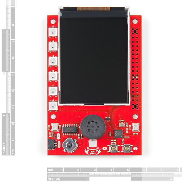 SparkFun Top pHAT pentru Raspberry Pi [1]