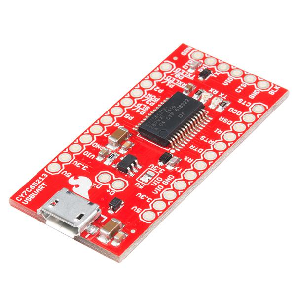 USB UART Serial Breakout - CY7C65213 0
