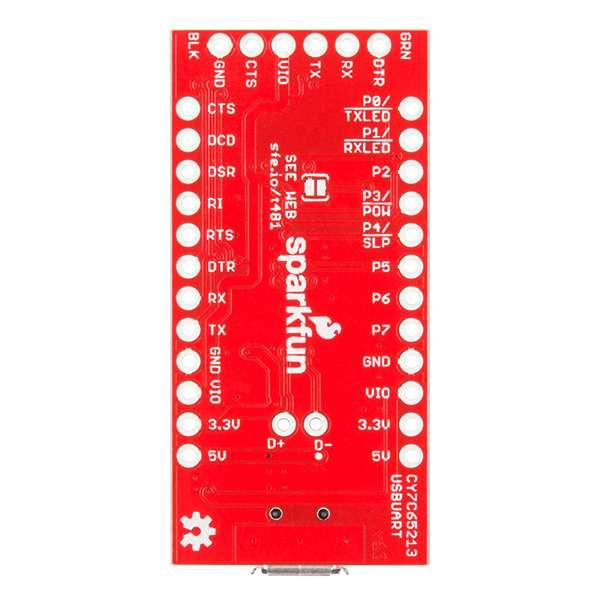 USB UART Serial Breakout - CY7C65213 3